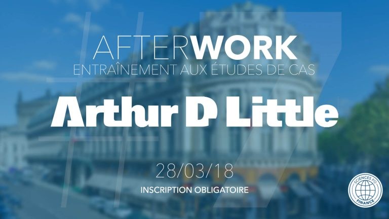 Afterwork #7 chez Arthur D. Little