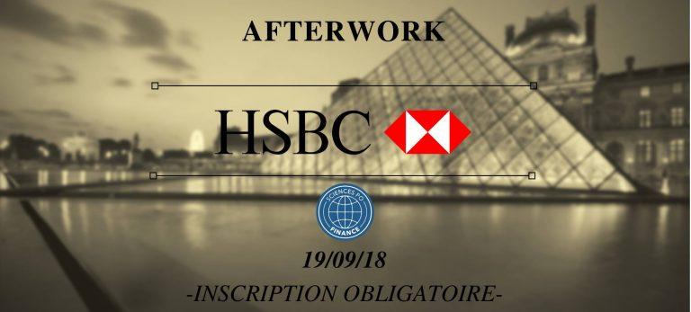 Afterwork #1 avec HSBC