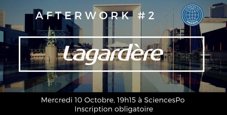 Afterwork #2 avec Lagardère