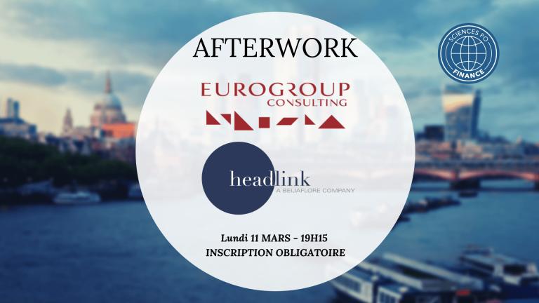 Afterwork #7 Eurogroup – Headlink