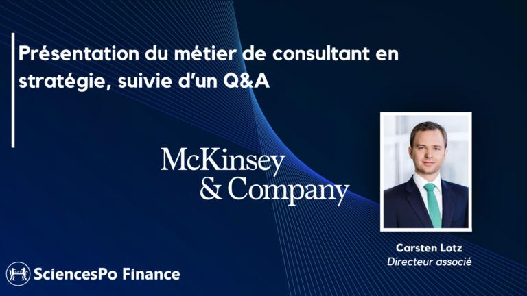 Webinaire McKinsey